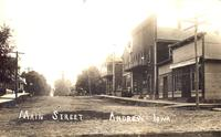 Main Street, Andrew, Iowa