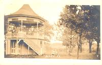 City park and gazebo, Alden, Iowa