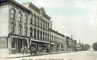 West side of square, Newton, Iowa