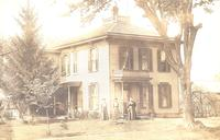 Boarding house in Monroe, Iowa