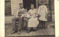 Family portrait, Guernsey, Iowa