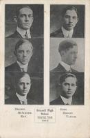 Grinnell high school debating team 1912, Grinnell, Iowa