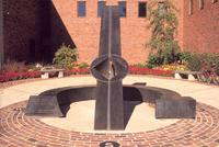 Alpha and Omega sundial, Grinnell College, Grinnell, Iowa