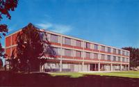East Norris Hall, men's residence, Grinnell College, Grinnell, Iowa
