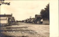Main Street looking north, Aurora, Iowa