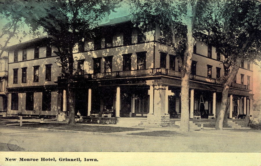 New Monroe Hotel Grinnell Iowa