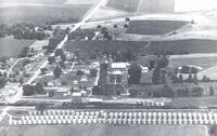1955 aerial view, Haverhill, Iowa