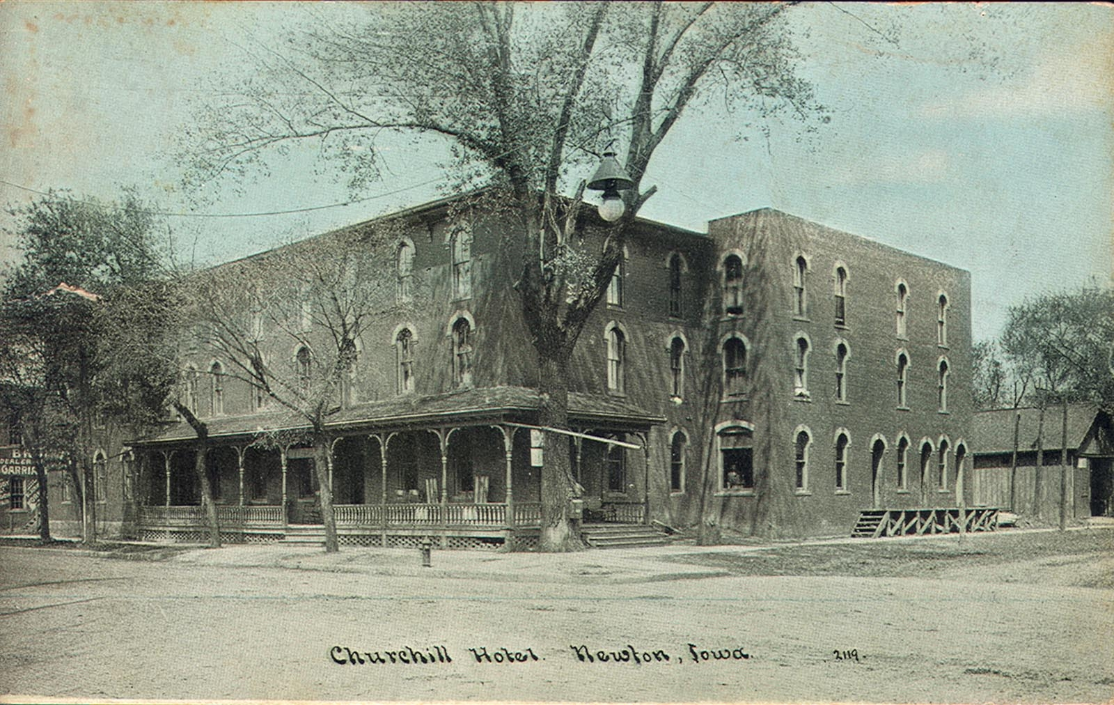 Churchill Hotel Newton Iowa