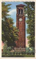 Campanile, Iowa State Teachers College, Cedar Falls, Iowa