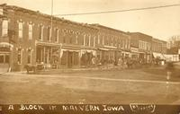 Block in Malvern, Iowa