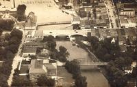 Aerial View, Independence, Iowa