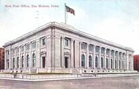 New Post Office, Des Moines, Iowa