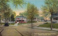 Oakland Avenue residence district, Council Bluffs, Iowa
