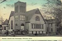 Baptist Church and Parsonage, Waverly, Iowa
