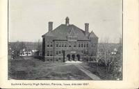 Guthrie County High School, Erected 1897, Panora, Iowa
