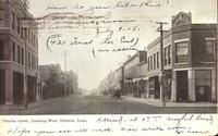 Charles Street, Looking West, Oelwein, Iowa