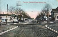 Chestnut Boulevard, New Hampton, Iowa