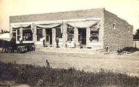 Bank and Dry Goods Store, Millerton, Iowa