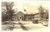 Administration Building, Vets Hospital, Knoxville, Iowa