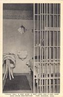 Typical Cell, 6 Feet Wide, 8 Feet Long and 8 Feet High, Iowa State Penitentiary