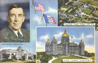 Iowa State Capitol and Governor of Iowa, Des Moines, Iowa