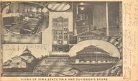 Views of Iowa State Fair and Davidson's Store, Des Moines, Iowa