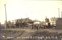 Train wreck, September 22, 1912, Dows, Iowa
