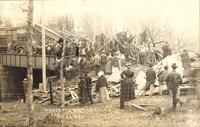 Chicago and North Western Train Wreck, April 23, 1908, De Witt, Iowa