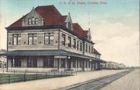 Chicago, Burlington & Quincy Depot, Creston, Iowa