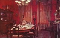 Historic General Dodge House, Dining Room, Council Bluffs, Iowa