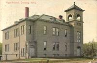 High school, Corning, Iowa
