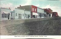 East Side of Main Street Looking South, Collins, Iowa