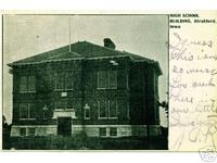 High School Building, Stratford, Iowa