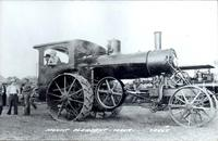 Antique Farm Steam Engine, Mount Pleasant, Iowa