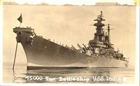 45000 Ton Battleship U.S.S. Iowa