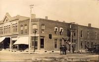 Bell Block and Farmer's National Bank, Garner, Iowa