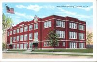 High School Building, Fairfield, Iowa