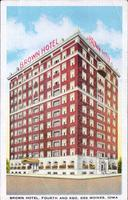 Brown Hotel, Fourth and Keo, Des Moines, Iowa