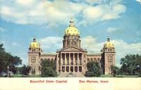 Beautiful State Capitol, Des Moines, Iowa