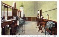 Book keeping dept., Winnesheik County State Bank, Decorah, Iowa