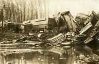 Chicago & North Western Train Wreck, April 23, 1908, De Witt, Iowa