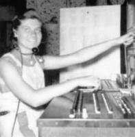 Avis Crockett at the Switchboard