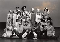 Pippin Cast Photo - Black and White