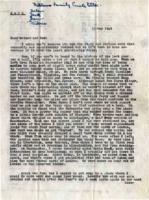 Letter from Harold S. Matthews (May 11, 1945)