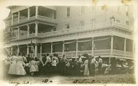 The dedication of the sanitorium, Nevada, Iowa