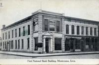 First National Bank building, Montezuma, Iowa