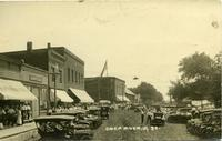 Celebration on Main Street, Deep River, Iowa