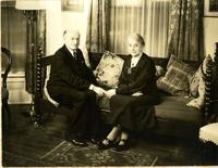 Portrait of Edward Steiner and his wife
