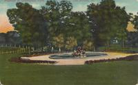 Fountain at Greenwood Park, Des Moines, Iowa