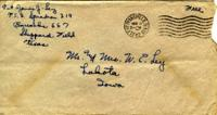 Jimmy Ley to Mr. and Mrs. W. E. Ley - November 4, 1942